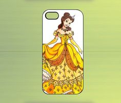 Disney Glamour Belle Case For iPhone 4/4S, iPhone 5/5S/5C, Samsung Galaxy S2/S3/S4, Blackberry Z10