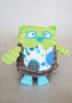 Ollie The Owl Rattle | make a rattle like this