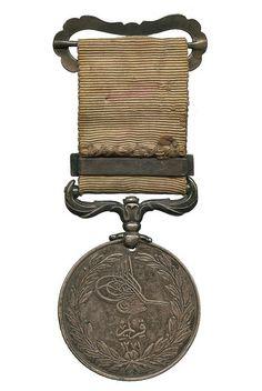 OTTOMAN CRIMEA MEDAL, 1855 (Osmanlı Kırım Madalyası, 1855) #Ottoman Empire