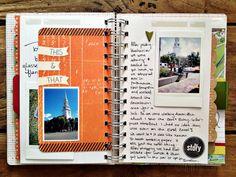 rukristin travel mini-album Portsmouth, NH