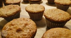 Made with just a short list of ingredients, these grain free, gluten free paleo muffins are very easy to make. Yummy, nutty and subtly sweet mini morsels! Almond Recipes, Paleo Recipes, Bread Recipes, Almond Muffins, Honey Almonds, Almond Meal, Spa Party, Grain Free, Sweet Treats