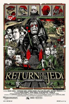 Return of the Jedi Tyler Stout poster