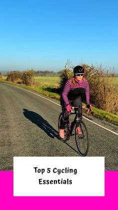 It's as simple as riding a bike! And it is but, for most, your cycling experience will naturally evolve. This post highlights my top five essentials for cycling. Bicycle Women, Road Bike Women, Mountain Bike Shoes, Mountain Biking, Cycling Tips, Road Cycling, Shoes For Less, Best French Toast, Cycling Motivation