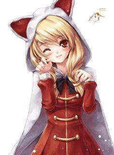 cute anime girl with hoodie - Google Search   Anime   Pinterest ...