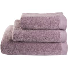 Lugano towel, rose ($12) ❤ liked on Polyvore featuring home, bed & bath, bath and fillers