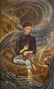 Γιώργος Χατζής, Stick Figures, Greece, Mermaid, Painting, Art, Basic Drawing, Greece Country, Art Background, Painting Art