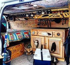 Digging the cabinet embellishment #VanCrush   Repost from @rohankensey  #vanlife  ~ For more van life pics check out https://www.instagram.com/van.crush/
