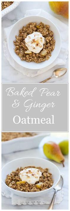 ... recipes on Pinterest | Oatmeal, Baked Oatmeal and Carrot Cake Pancakes