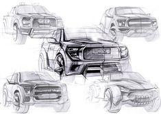 """查看此 @Behance 项目:""""Ford F-150""""https://www.behance.net/gallery/34736875/Ford-F-150"""