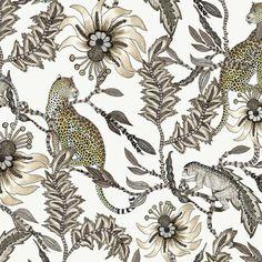 Monkey Bean Stone Fabric – Ardmore-Design