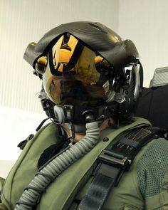 helmet of the pilots F-35