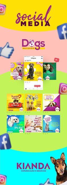 Dogs Pet Shop - Social Media on Behance