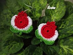 Free Crochet, Knit Crochet, Captain Hook, Crochet Accessories, Clay Jewelry, Diy And Crafts, Crochet Earrings, Crochet Patterns, Knitting