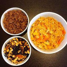 2歳2ヶ月の娘が好きな物シリーズ。 これで今週のお昼ごはん、お弁当や夜ごはんの一品の出来上がり♫ - 35件のもぐもぐ - 今週の常備菜〜牛肉しぐれ煮・切り干し大根の煮物・ひじきと大豆の煮物〜 by mayaco618