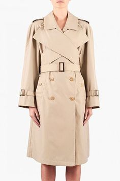 30 Spring-Perfect Trenches Every London Girl Needs #refinery29  http://www.refinery29.com/rain-trench-coats#slide-11  A classic with a kick, courtesy of your favourite Irish import.J.W. Anderson double-breasted trench coat, £949.75, available at Farfetch.
