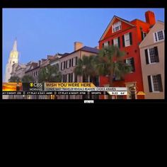 Screen grab from today's live national television announcement that #Charleston been voted #1 U.S. City by @cntraveler! We loved hearing @CBSThisMorning anchor Charlie Rose talk about #ExploreCharleston!