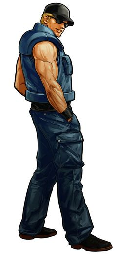 Clark Steel - The King of Fighters XI