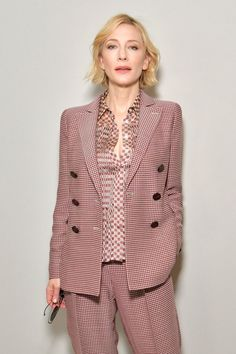 The Goddess — Divine Cate Today in Milan 💖💖💖💖💖 Cate Blanchett 2017, Milan, Fashion Week, Fashion Trends, Diane Kruger, Perfect Wardrobe, Suits For Women, Work Wear, Celebrity Style