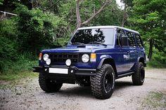 Mitsubishi Pajero -> Hyundai Galloper -> Mohenic Garages redesign - MohenicG Classic offlook ver. Mohenic Midnight Blue. www.the.co.kr