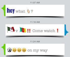 ⚽️ #worldcup #MEXvsCMR #emojistories #emojis #stickers