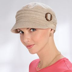 Conductor Hats for Cancer Patients, Cancer Hats, Cancer Head Covers, Breast Cancer Hats for Women - TLC