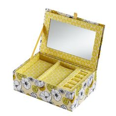 Flower Girl Jewelry Box (Yellow) in Jewelry Storage Flower Girl Jewelry, Girls Jewelry Box, Jewellery Storage, Jewelry Organization, Free Advertising, Kids Storage, Baby Store, Kids Furniture, Crate And Barrel