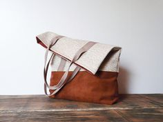 Retro rustic bag by SKMODELL