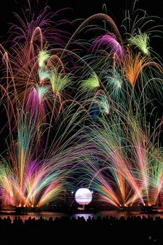 I WANT TO SEE THOSE FIREWORKS! Though it may not seem like it, artists actually design the way fireworks are done to give you a variety of colors and patterns.