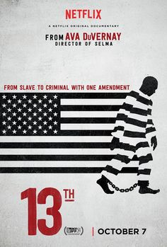 13th netflix documentary poster 13th Trailer Previews Ava DuVernays U.S. Prison Documentary