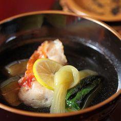 [湯碗] 赤金目鯛水茄子湯 #京懷石 #京都 #Kyoto #かいせき #りょうり #kaiseki #foodie #food #foodies #gourmet #japanese #hk #oishii #美味しい #tasty #yum #instafood #soup #金目鯛 #きんめだい by kumy.luv.jp