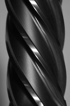 Just a drill bit Lift Operator Training OSHA & ANSI Compliant www.scissorlift.training Web Design, Shape And Form, Surface Pattern, 3d Pattern, Shades Of Black, Textures Patterns, Industrial Design, Design Elements, Zoro