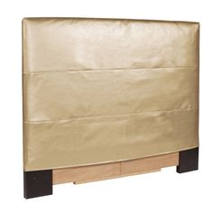 Howard Elliott 122-880 Shimmer 42 X 48 Twin Headboard Slipcover Gold Furniture Slipcover Headboard Slipcovers