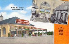 Cafe' Du Monde - New Orleans by devroshart, via Flickr
