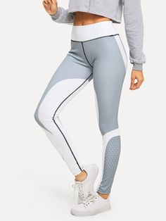 fe97ad3561cac4 BUY 1 GET 1 99% OFF Graphic Print Skinny Leggings | Sporty Style | Casual