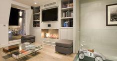 EcoSmart Fire Installation: Private Residence, London - UK