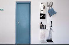 Útil. Paragüero, perchero, espejo y organizador. Diseño y fabricación #Bronzo. Aluminio.