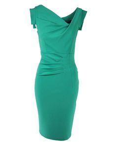 Cfc0053470003 Jurk groen - Damesmode Kleding webshop met de nieuwste online mode collecties