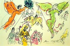 More Chagall Angels