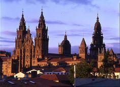 Catedral de Santiago de Compostela - Galicia - España.