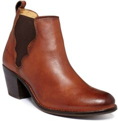 Womens Jackie Double Gore Booties - Lyst