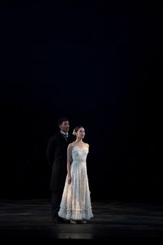 The Washington Ballet's EunWon Lee and Gian Carlo Perez in 'Lilac Garden' - Photo by media4artists, Theo Kossenas