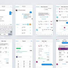 Messenger Bots & Partial payment Concept by Isil Uzum  #interface #mobile #design #application #ui #ux #webdesign #concept #userinterface #userexperience #inspiration #materialdesign #instaart #creative #dribbble #digitalart #behance #appdesign #sketch #designer #web #userflow #wireframe by myinterface