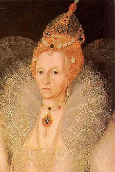 Elizabeth I (Tudor) England.... Born September 7,1533 -  Greenwich, London, England - Died March 24, 1603 in Richmond, Surrey, England. By Marcus Gheeraerts the Younger