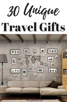 Travel gifts Ideas for the whole family and for any budget. Travel gifts for men and many other travel gifts ideas. Looking for travel gifts for friends ? Or travel gifts diy ? Find 30 Travel Gifts for Globetrotters here. #budgettravel #budgettravelfamily #budgettravelideas