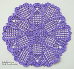 PINK ROSE CROCHET: Kaleidoscope