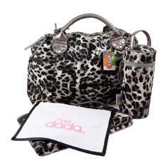Amazon.com: YippyDada Chic Baby Diaper Bag Leopard Print Kitty: Baby