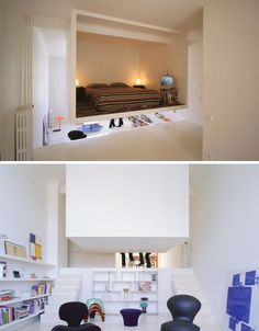 hanging bedroom in a box. This just blows my mind! that whole page was neat