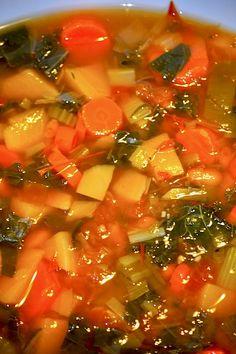New Year Veggie Detox Soup Recipe