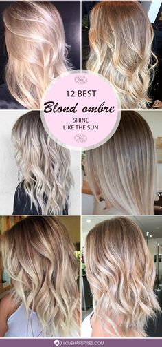 Are you looking for blonde ombre hair color ideas? We have collected the hottest and most gorgeous looks for you to try. See them before going to a salon.