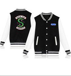 lover veste fashon riverdale unisexe veste decontractee cote sud ventilateurs occasionnels amant baseball veste plus la - fortnite cote